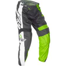 used youth motocross boots fly f 16 kids racewear package gear set green mx off road