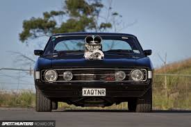 Australian Muscle Cars - judge jury executioner a blown big block falcon hardtop