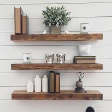 Wooden Shelves Diy by Best 25 Wood Floating Shelves Ideas On Pinterest Shelves With