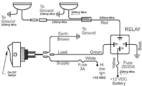 fog light wiring diagram with relay wiring diagram and schematic