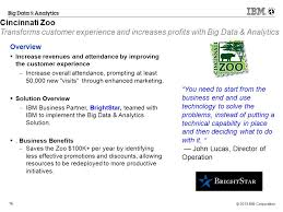 Zoo Increases Sales And Enhances Big Data Analytics Business Partner Studies Ppt