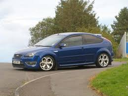 used ford focus st3 used ford focus car 2007 blue petrol 2 5 st 3 3 door hatchback for