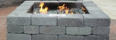 Square Fire Pit Kit by Johnson Concrete Kits