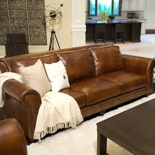 Reclining Leather Sectional Sofas by Furniture Elegant Full Grain Leather Sofa For Luxury Living Room