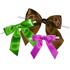 twist tie bows for bags box and wrap