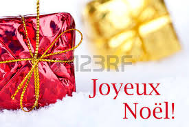 red label french words joyeux noel means merry
