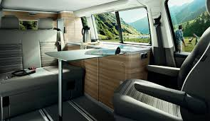 volkswagen california interior alquiler camper vw california en madrid take a van