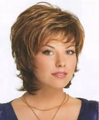 short wig styles for plus size round face for older women with round faces
