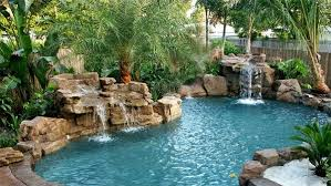 pools with waterfalls 15 pool waterfalls ideas for your outdoor space backyard backyard