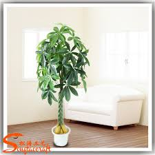 evergreen artificial types of pachira money lucky tree plant make