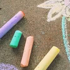 sidewalk chalk u2013 twineandtable