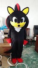 Sonic Shadow Halloween Costume Shadow Sonic Costume Ebay