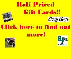 half price gift cards wttl radio wttl fm