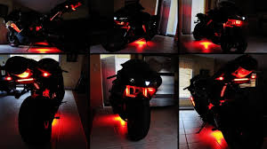 led strip lights for motorcycles how to install led lights on a motorcycle youtube