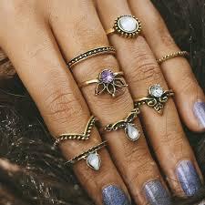 knuckle finger rings images H hyde 6pcs lot unique adjustable ring set punk style gold color jpg