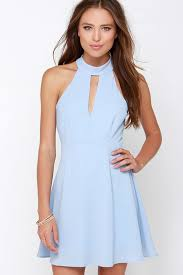 sleeveless dress pretty periwinkle dress halter dress sleeveless dress 39 00