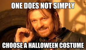 Quick Memes - 5 halloween costumes for you to put together at the last minute