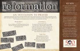 thanksgiving grace prayer reformation 500 placemat product goods creative communications