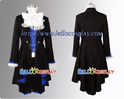 Black Butler Halloween Costumes Black Butler Cosplay Ciel Phantomhive