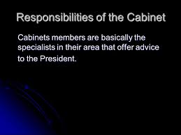 Cabinet Responsibilities Bellwork Define Tradition Identify 3 Traditions Ppt Download