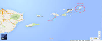 Map Of Puerto Rico Map Of Puerto Rico And Virgin Islands World Maps