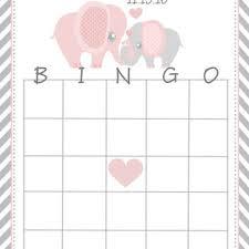 baby shower bingo shop baby shower bingo cards on wanelo