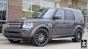 land rover lr4 black kc trends showcase gianelle verdi 22x10 5 gloss black machined