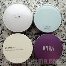 some thoughts on korean air cushion foundation compacts