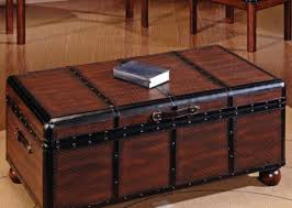 cute vintage trunk as coffee table tags trunk as coffee table