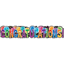 congratulation banner congratulations jointed banner walmart