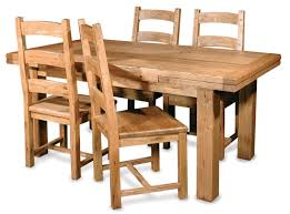 Kitchen Tables Houston by Furniture Teak Wood Expandable Dining Table And Four Chair With