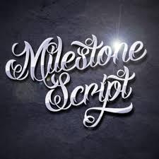 modern decorative font on behance