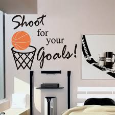 vinyl wall lettering words quotes decals basketball shoot for your vinyl wall lettering words quotes decals basketball shoot for your goals 13 00 via etsy
