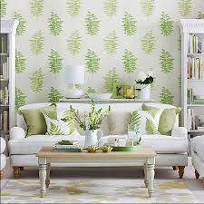 wohnideen wohnzimmer tapete wohnideen wohnzimmer tapeten mit grünen farn motiv