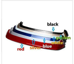 car color paint rear trunk spoiler wing spoiler rear diffuser