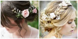hair flowers wedding hair adding flowers edmonton wedding