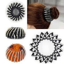 bun holder furling 1pc bird nest expanding hair bun holders grips