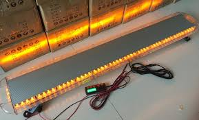 60 inch led light bar 55 inch 60 inch led amber strobe light bar uncle wiener s