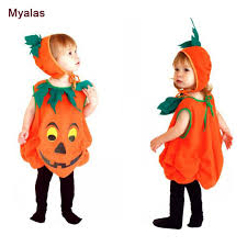 baby pumpkin costume children baby clothes fancy style