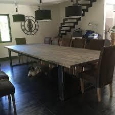 table banc cuisine table à manger industriel lovely résultat supérieur 50 incroyable