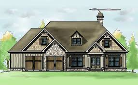 Mountain Cottage House Plans by 1 Story 3 Bedroom House Plan Oak Mountain Cottage