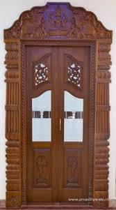 Wooden Doors Design Wood Design Ideas Latest Pooja Room Door Frame And Door Design