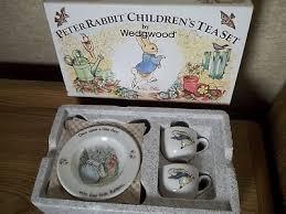 wedgwood rabbit tea set wedgwood rabbit children s 6 pc tea set 2