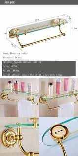 accessories brass gold finish toilet wall mount paper holder towel