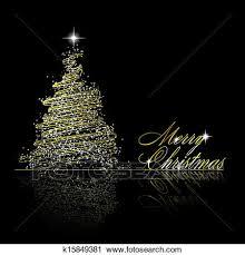 Christmas Tree Made Of Christmas Lights - gold christmas lights clipart s free download clip art on fun