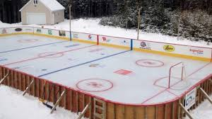 Backyard Hockey Rink by Local Big Time Best Backyard Hockey Rinks