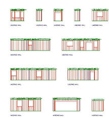 wall blueprints quick way to draw wall frame detail plans general discussion