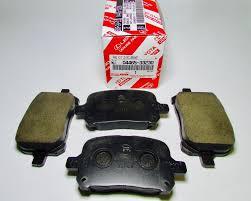 lexus rx300 brake pads new genuine lexus rx300 99 01 factory oem front brake pad set