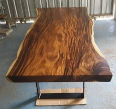 Dining Tables Salvaged Wood Dining Tables Solid Wood Dining Live Edge Dining Table Acacia Wood Live Edge Reclaimed Solid