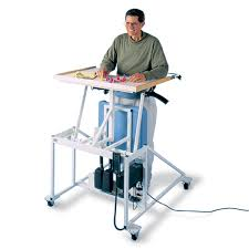hausmann hand therapy table hausmann hi lo econo line stand in table with electric lift north